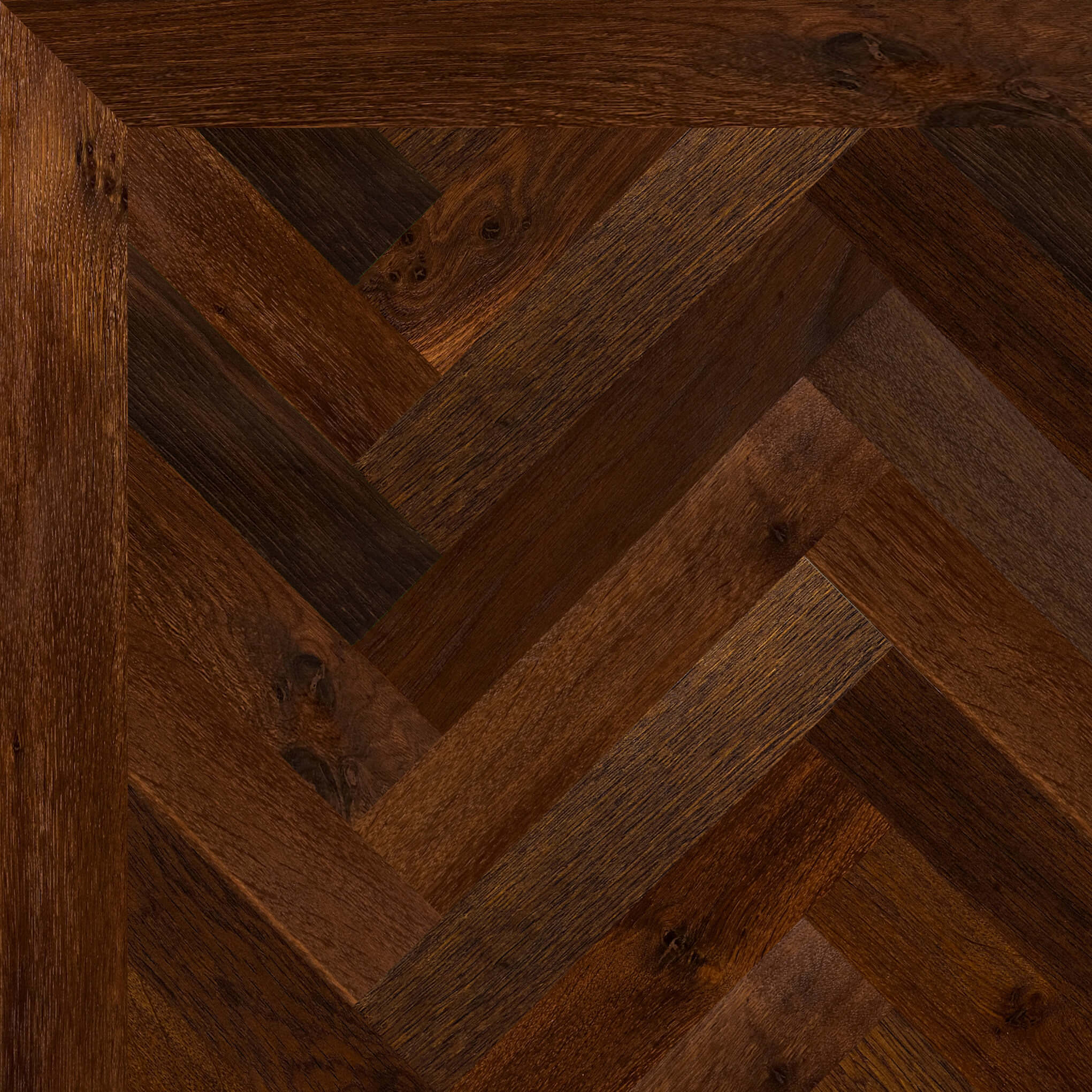 French Oak Rustic Thermo Treated Baked Parquet Battens